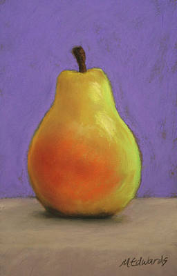 Simply Pear Art Print