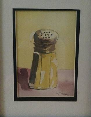 Painting - Simply Salt by Thomas Steiner
