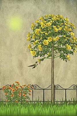 Warm Digital Art - Simply Spring by David Dehner