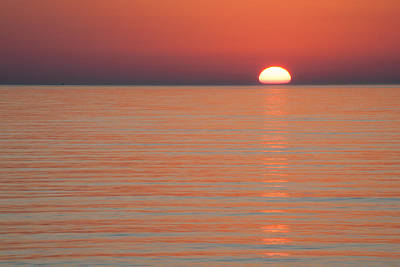 Simply Sunset Art Print