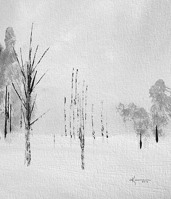 Painting - Simply Winter 2 by Kume Bryant