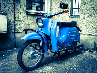 Photograph - Simson Schwalbe Kr51 by Semmick Photo