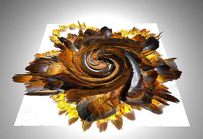 Digital Art - Simulated Beats 30 by Zac AlleyWalker Lowing