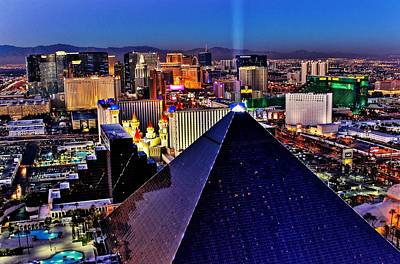 Photograph - Sin City Hdr by Benjamin Yeager