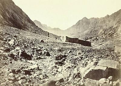 Sinai Monastery On Mount Horeb Art Print