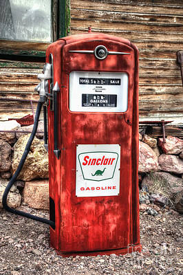 Photograph - Sinclair Gasoline by Eddie Yerkish