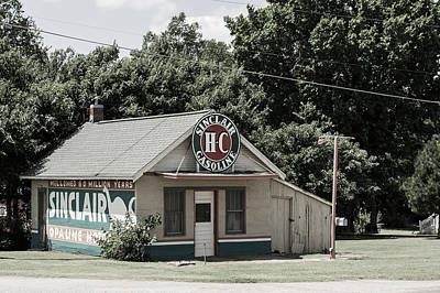 Photograph - Sinclair's by Nathan Hillis