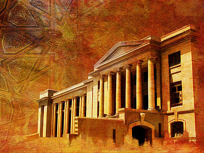Painting - Sindh High Court by Catf