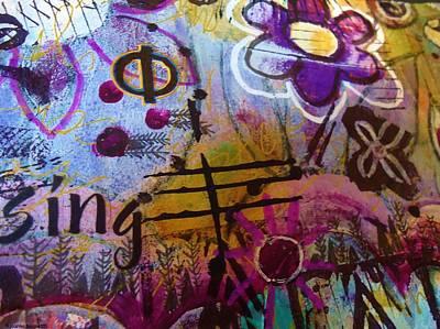 The Trees Mixed Media - Sing by Joanna Bennett