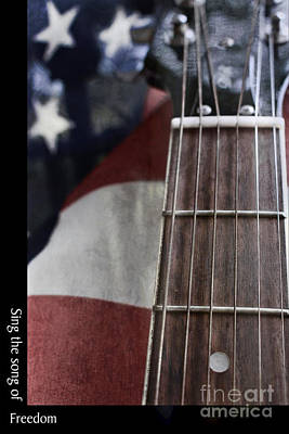 Free Speech Photograph - Sing The Song Of Freedom by Ella Kaye Dickey