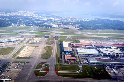Audrey Hepburn - Singapore Airport by Jijo George