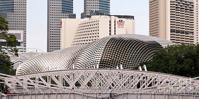 Photograph - Singapore Architecture by Rick Piper Photography