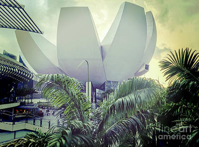 Photograph - Singapore Artscience Museum by Colin and Linda McKie