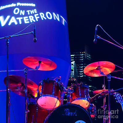 Photograph - Singapore Drum Set 01 by Rick Piper Photography