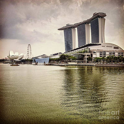 Photograph - Singapore Icons by Colin and Linda McKie