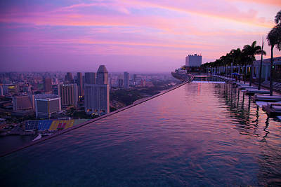 Singapore Photograph - Singapore, Marina Bay Sands Hotel by Jaynes Gallery