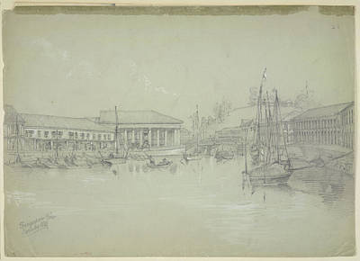 Yule Photograph - Singapore River by British Library