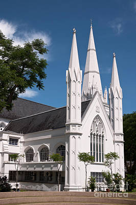 Photograph - Singapore St Andrews Cathedral 03 by Rick Piper Photography