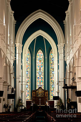 Photograph - Singapore St Andrews Cathedral 07 by Rick Piper Photography