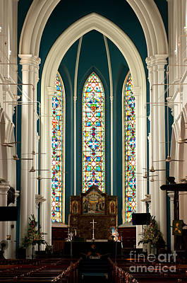 Photograph - Singapore St Andrews Cathedral 08 by Rick Piper Photography