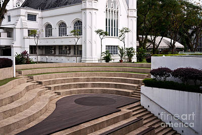 Photograph - Singapore St Andrews Cathedral 10 by Rick Piper Photography