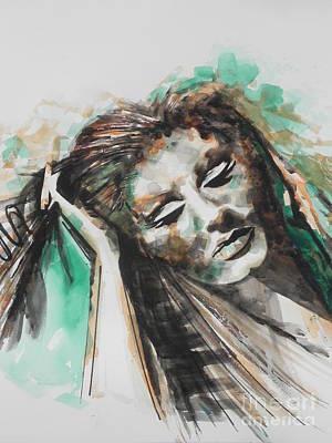 Adele Painting - Singer Adele 02 by Chrisann Ellis