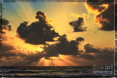 Photograph - Singer Island Sunrise by Jeff Breiman