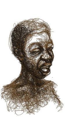 Digital Art - Singer by Khaya Bukula