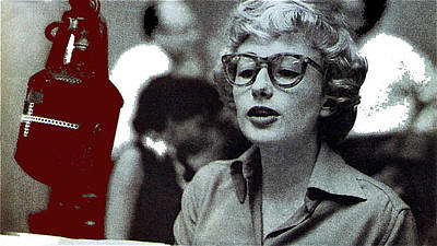 Singer Pianist Blossom Dearie  No Known Date Art Print