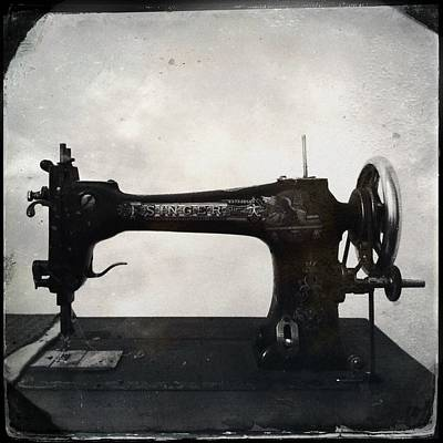 Photograph - Singer Sewing Machine by Marco Oliveira