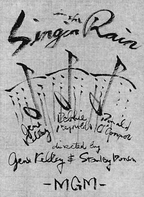 Singin In The Rain Poster Original