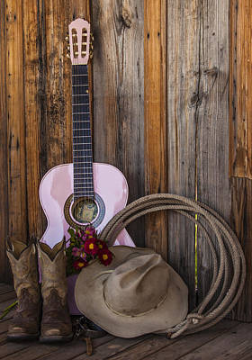 Photograph - Singing Cowgirl by Amber Kresge