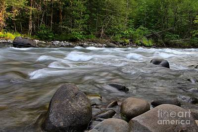 Photograph - Singing Creek by Tim Rice