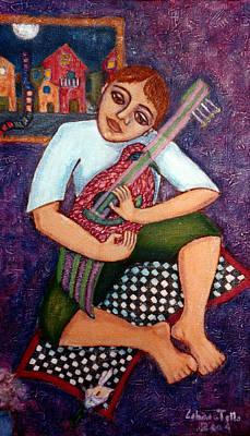 Singing Dreams Art Print by Madalena Lobao-Tello