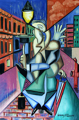 Painting - Singing In The Rain by Anthony Falbo