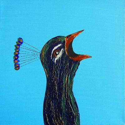 Painting - Karma Calling by Kruti Shah