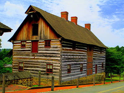 Photograph - Single Brothers Workshop Old Salem by Randall Weidner