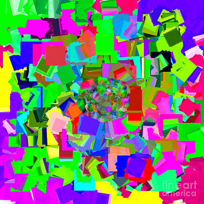 Digital Art - Single Ladies Colorful by Holley Jacobs