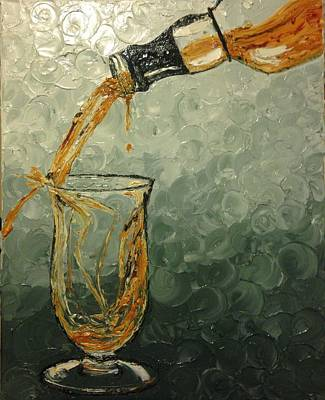 Painting - Single Malt Scotch by Eryn Tehan