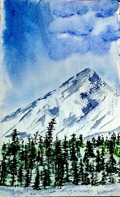 Painting - Single Peak  by Eunice Miller