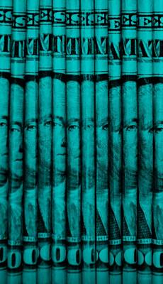 Politicians Mixed Media - SINGLES in TURQUOIS by Rob Hans