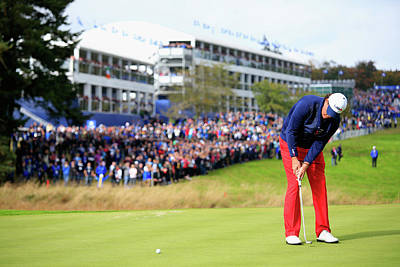 Photograph - Singles Matches - 2014 Ryder Cup by Jamie Squire