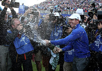 Photograph - Singles Matches - 2014 Ryder Cup by Ross Kinnaird