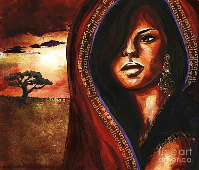 Singular Art Print by Alga Washington