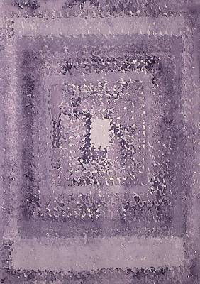 Singularity Original Painting Art Print by Sol Luckman
