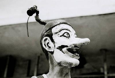 Absurdity Photograph - The Bizarre Clown by Shaun Higson