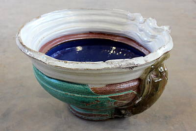 The Manning Arts Ceramic Art - Sink Series 0027 by Richard Sean Manning