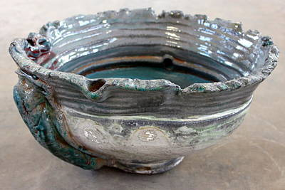 The Manning Arts Ceramic Art - Sink Series 0029 by Richard Sean Manning