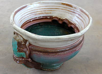 The Manning Arts Ceramic Art - Sink Series 0031 by Richard Sean Manning