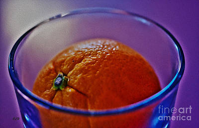 Photograph - Sinking Orange by Crystal Harman